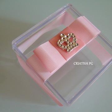 Caixa Acrílica/ Laço Chanel