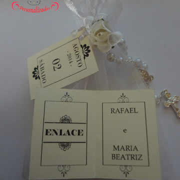 Tags de Agradecimento Bia e Rafa