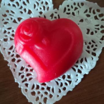 Sabonete de coração (unidade)