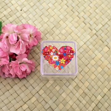 Caixinha/latinha - coração 22