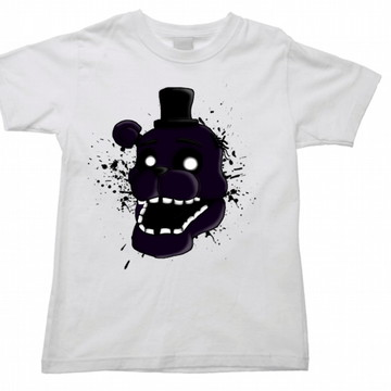 Camiseta Infantil five nights freddy 01
