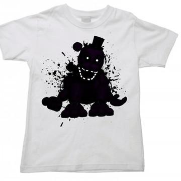 Camiseta Infantil five nights freddy 04