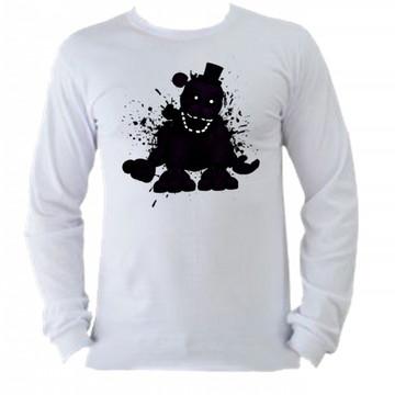 Camiseta M. Longa Five Nights Freddy 04