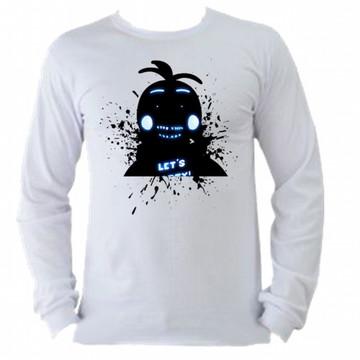 Camiseta M. Longa Five Nights Freddy 05
