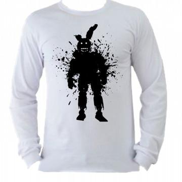 Camiseta M. Longa Five Nights Freddy 06