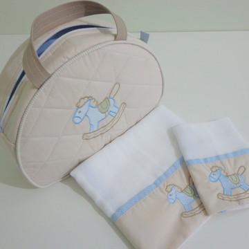 Kit Bolsa Passeio Bebê