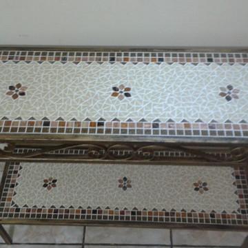 Aparador em Mosaico Duplo Encanto