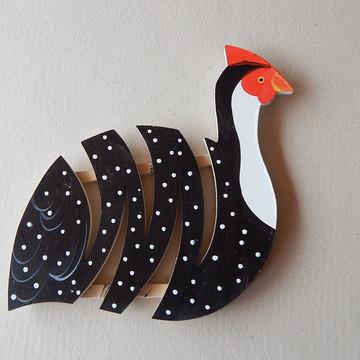 Decoração cozinha galinha suporte panela