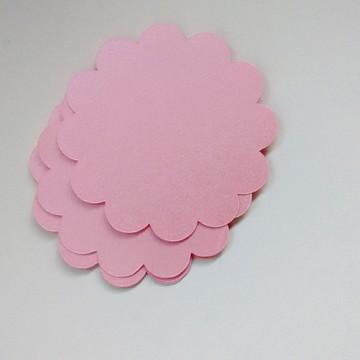 Escalope 5 cm - Rosa Metálico