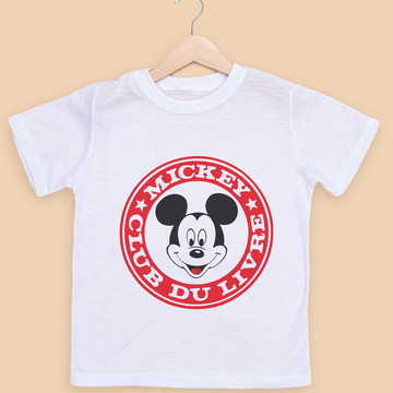 Camiseta Infantil Personagens
