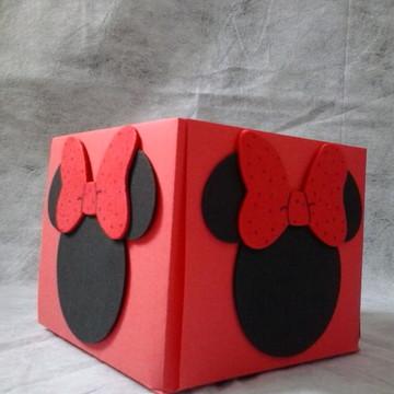 Enfeite de Mesa Minnie Vermelha