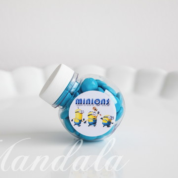Rótulo para Mini Baleiro Minions