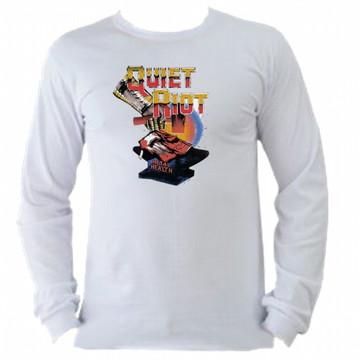 Camiseta Quiet Riot Manga Longa 01