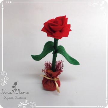Rosa de Feltro - tema O Pequeno Príncipe
