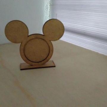 Porta Retrato Mickey em MDF crú