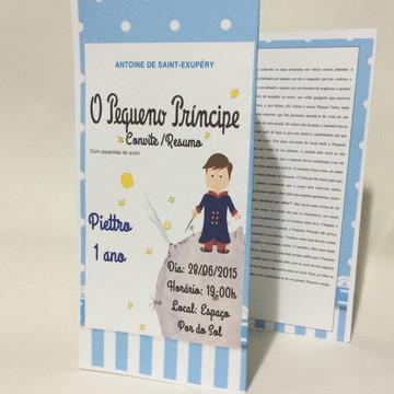 Convite\Resumo Pequeno Príncipe