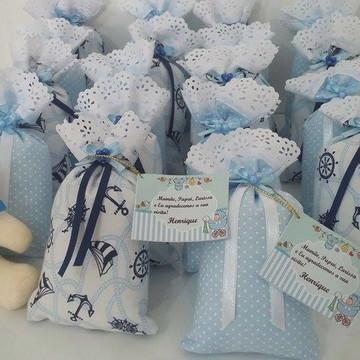 Sachê perfumado para Lembrança de Maternidade ou Chá de Bebê