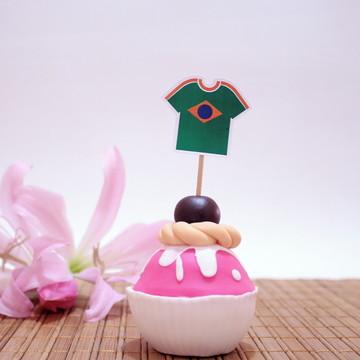 Topper para doces - Brasil 5