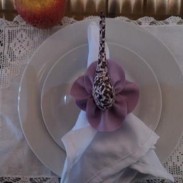 Porta-gurdanapo passarinho de tecido