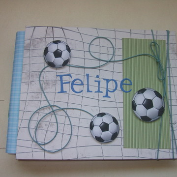 Álbum scrap Primeiras Visitas Futebol