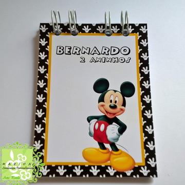 Bloquinho de Anotações Mickey