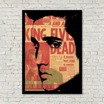 Quadro vintage Elvis Presley
