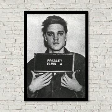 Quadro retrô Elvis Presley