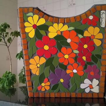 Cachepot em mosaico tamanho grande