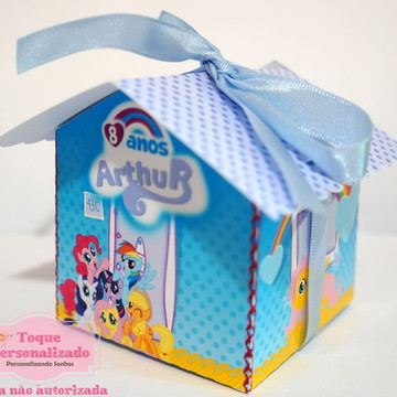 Casa My Little Pony azul