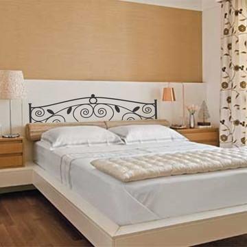Adesivo Cabeceira cama estilizada