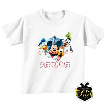 Camiseta Personalizada Disney