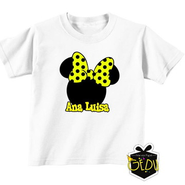 Camiseta Personalizada Minnie