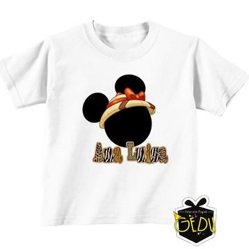 Camiseta Personalizada Minnie Safari