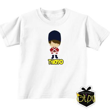 Camiseta Personalizada Soldadinho