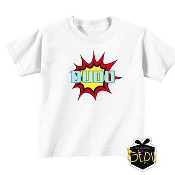 Camiseta Personalizada Super Herois