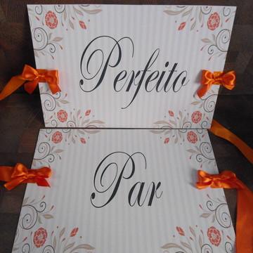 Placas PAR/ PERFEITO