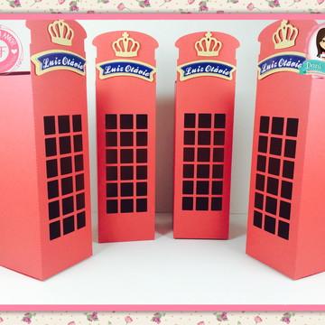 Caixa Cabine Telefônica - Soldadinho