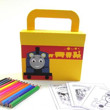 Lembrancinha Thomas com Kit Pintura