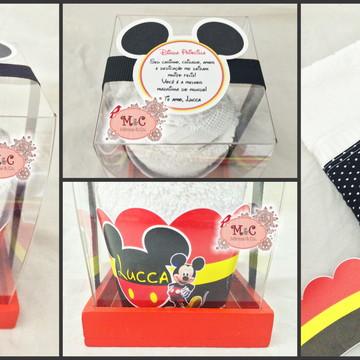 Cupcake de Toalha Mickey