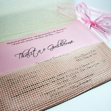 Convite de Casamento Capri / Rustico
