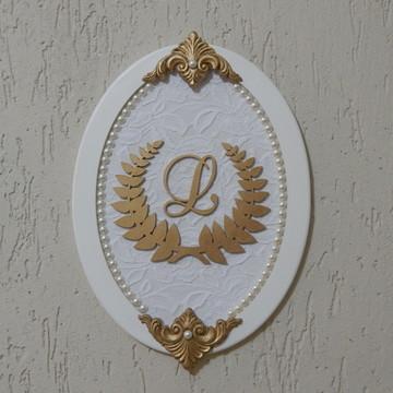 Placa decorativa