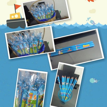 Kit bloquinho e lápis personalizados