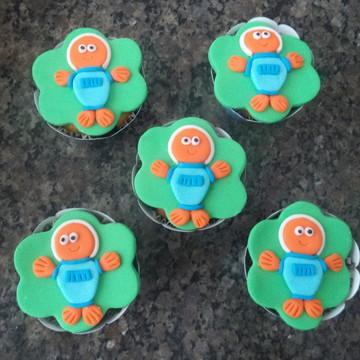 Cupcakes - Peixonauta