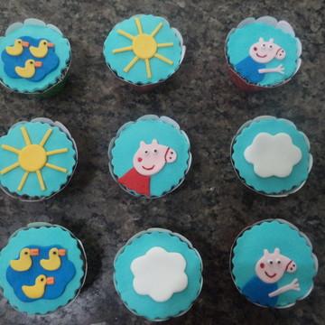 Cupcakes - Peppa Pig & Família
