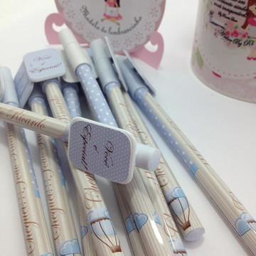 lembrança nascimento canetas balão