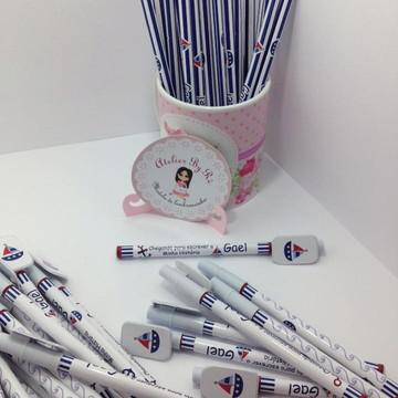Kit Canetas e lápis personalizado