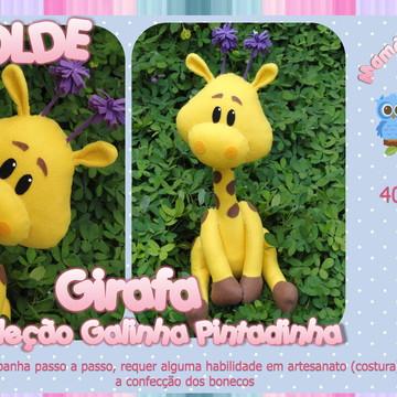 Molde Girafa - Galinha Pintadinha