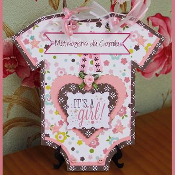 Álbum de Mensagens Bebê Menina (1)