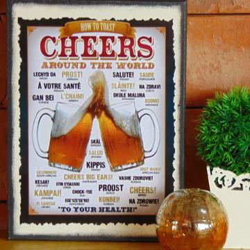 Quadro Vintage Cerveja 6