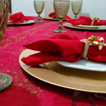 Mesa de Natal- completa